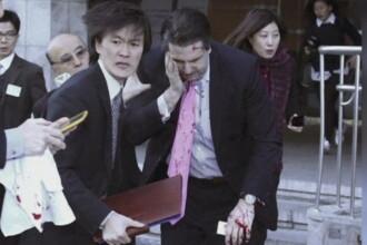 Ambasadorul american in Coreea de Sud a fost taiat pe fata cu o lama de ras, in Seul. Cum si-a explicat agresorul gestul