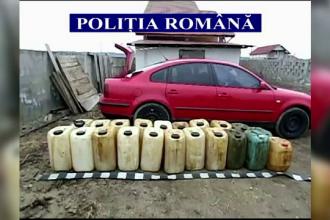 23 de persoane care au furat petrol direct de pe conducta au fost retinute de politie. Prejudiciul e de peste 100.000 de lei