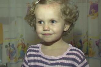 Delia sufera de cancer ocular la doar 2 ani si are nevoie de ajutor pentru a nu-si pierde vederea