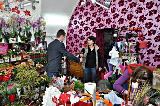 Surpriza de 8 Martie pentru floraresele din Cluj. Au primit flori