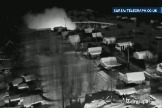 Imagini incredibile surprinse intr-un oras din Rusia. Un crater urias se formeaza la cativa metri de locuintele oamenilor