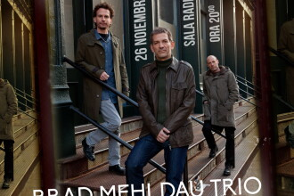 Concert Brad Mehldau Trio - pentru prima data in Romania - la Jazz Night Out!