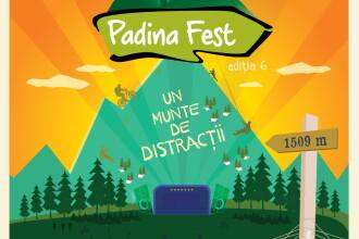 PADINA FEST 2015. Concerte la munte cu Suie Paparude, Alternosfera, Luna Amara, Robin and the Backstabbers si Firma