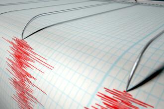 Cutremur cu magnitudinea 3,5 inregistrat in zona Vrancea, luni dimineata. Zonele in care s-a simtit
