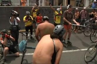 Sute de biciclisti au pedalat fara haine in Peru: