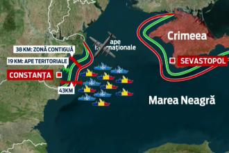 Avion spion al Rusiei, survol deasupra navelor romanesti in timpul exercitiilor NATO in Marea Neagra. Reactia MAPN