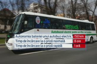 RATB testeaza primul autobuz electric. Soferii sunt cei mai putin impresionati: