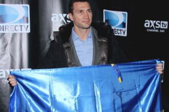Vladimir Klitschko, la New York: