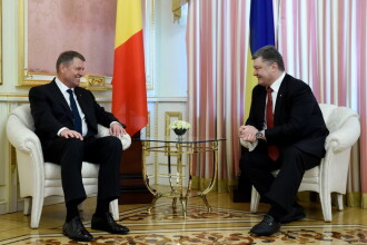 Iohannis, vizita in Ucraina in contextul tensiunilor cu Rusia. Romania si Germania, tratament medical pentru soldatii raniti