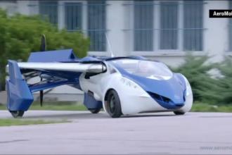 O companie din Slovacia a inventat masina-avion. Cum arata AeroMobilul si cine il poate conduce