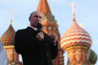 Scenariile lui Vladimir Putin: Serviciile secrete occidentale comploteaza pentru destabilizarea Rusiei