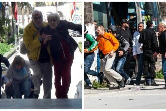 Filmul evenimentelor tragice din Tunisia. Trei teroristi sunt cautati de politie dupa atacul soldat cu cel putin 22 de morti