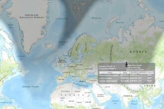 Eclipsa de Soare - toate informatiile puse pe o HARTA INTERACTIVA. Cat de acoperit va fi Soarele