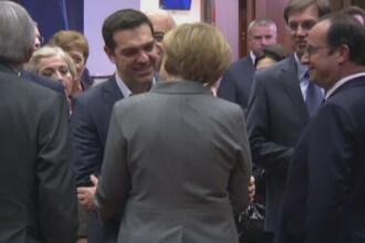 Grecia risca sa intre in insolventa, fara ajutor din partea creditorilor. Noi discutii intre Merkel si premierul Tsipras