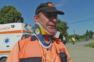Sofer de ambulanta mort in misiune, la Botosani. Barbatul supravietuise unui alt accident, in urma cu doi ani
