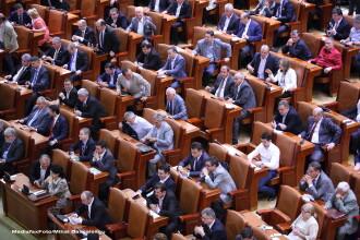 Senatul a votat legea finantarii partidelor, cu modificarile cerute in cererea de reexaminare a lui Klaus Iohannis