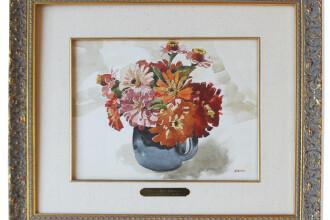 Cu ce pret se vinde un tablou cu flori pictat de Hitler. Singurul care a vrut sa i-l cumpere a fost un colectionar evreu