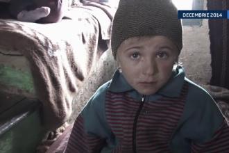 O noua speranta pentru cei 12 copii din Botosani, care dormeau in soba. Preotul din sat i-a ajutat sa aiba o casa noua
