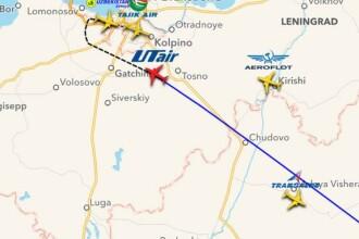 Avionul rusesc a aterizat in siguranta pe aeroportul din Sankt Petersburg.