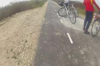 Pista de biciclete de 2,5 milioane de euro ce leaga Timisoara de Serbia, o