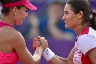 Alexandra Dulgheru si Simona Halep eliminate in primul tur al probei de dublu, la Miami Open