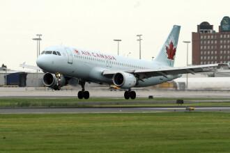 Un Airbus A320 al Air Canada a iesit de pe pista in Halifax.