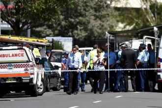 Barbatul care a deschis focul intr-o fabrica de langa Sydney, a omorat o persoana si a tinut ostatice alte trei, s-a sinucis