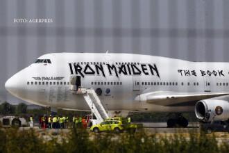 Avionul trupei Iron Maiden a suferit un accident in Chile. Doua persoane au fost ranite