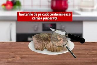 Reguli simple pentru a preveni orice infectie cu E.coli. In ce conditii ne pot imbolnavi ustensilele din bucatarie