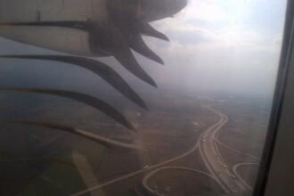 Un avion TAROM s-a umplut de fum dupa decolare si a aterizat de urgenta la Budapesta. Reactia companiei