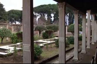 Descoperire importantă la Pompeii. Ce s-a găsit în grajdul vilei unui general roman
