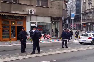 Un barbat s-a aruncat in aer in centrul Belgradului. Ce spun autoritatile despre posibilitatea unui atentat