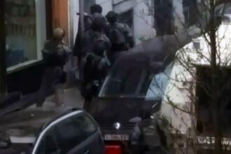 Noi imagini cu momentul capturarii teroristului Salah Abdeslam. Cainele folosit de fortele speciale belgiene