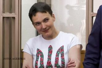 Nadia Savcenko, condamnata la 22 de ani de inchisoare. Gestul pilotului ucrainean in momentul aflarii sentintei