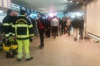 Alerta pe un aeroport din Roma, dupa ce pasagerii au observat un bagaj abandonat. Ce au descoperit ca se afla in el. FOTO