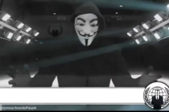 Anonymous le declara razboi total jihadistilor din Statul Islamic, dupa atentatele din Bruxelles. Mesajul video transmis