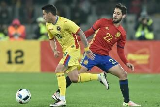Romania - Spania 0-0: Nicusor Stanciu, cel mai bun jucator de pe teren. Toate reactiile dupa meci