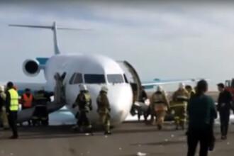 Aterizare fortata pe un aeroport din Kazahstan. Ce s-a intamplat cu pilotul care a salvat vietile a peste 100 de oameni
