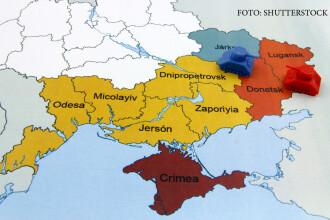 Bild: Estul Ucrainei, guvernat ca o regiune a Rusiei.