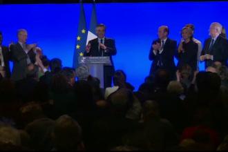 Francois Fillon a declarat ca isi va mentine candidatura la presedintie: