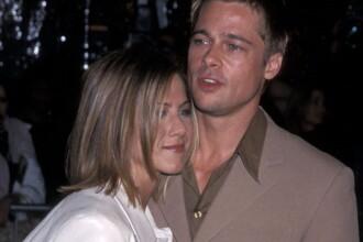 Brad Pitt si Jennifer Aniston au reluat legatura dupa divortul actorului. Ce mesaje si-au transmis