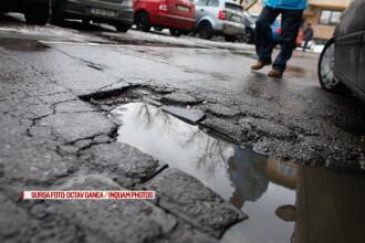 Primaria Capitalei anunta ca incepe re-asfaltarea strazilor la sfarsitul lui martie. Lucrarile se vor face seara sau noaptea