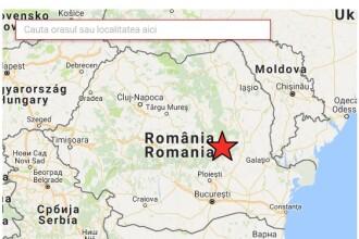 Cutremur in judetul Vrancea. Institutul pentru Fizica Pamantului a anuntat un seism cu magnitudinea 4