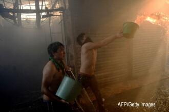 Cel putin 19 persoane au murit intr-un centru de plasament din Guatemala, in urma unui incendiu. Sunt 25 de raniti