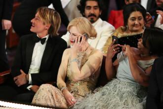 Nicole Kidman a explicat de ce a aplaudat precum o foca la gala premiilor Oscar 2017.
