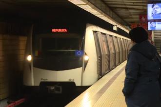 Incident în stația de metrou Aurel Vlaicu. O persoană a căzut în calea de rulare