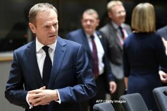 Ultimul summit UE inainte de declansarea BREXIT. Tusk, reales presedinte al Consiliului European, desi tara lui s-a opus