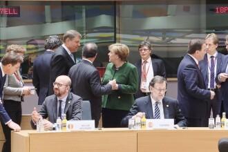 Klaus Iohannis, discutii cu Merkel si Tusk la Bruxelles.