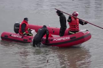 Pescar de 50 de ani disparut in Somes, cautat de pompieri. S-a cerut ajutorul autoritatilor din Ungaria