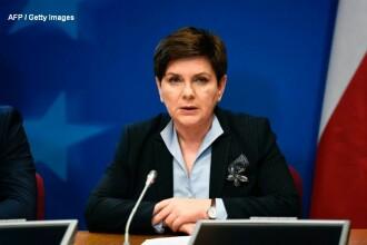 Fosta şefă a guvernului polonez a provocat un accident rutier, în Cracovia